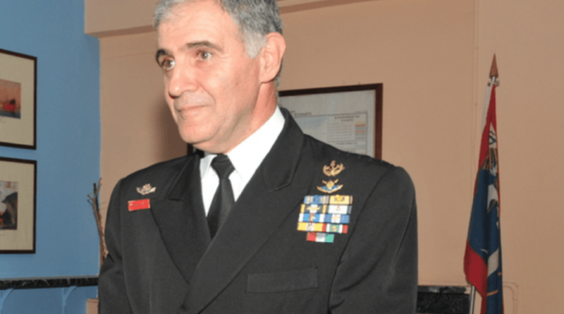 G. Kiakoumakis Chief of Hellenic Navy
