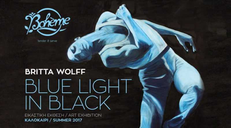 Blue Light in Black exhibition