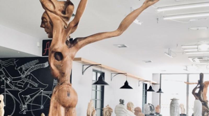 Platanias Sculpture exhibition