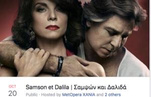 MET Opera Samson and Delilah