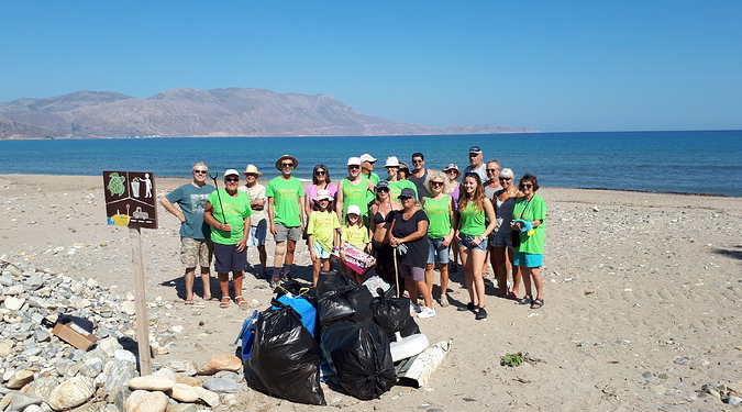 Beach Cleaning in Kissamos