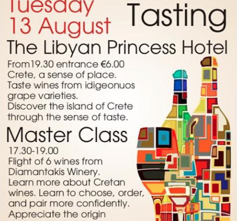 13 August Wine Tasting Paleo