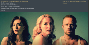 21-28 Streetcar named Desire MAy National THeatre